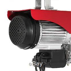 Treuil Électrique De Grue De Levage 2200lbs Soulevant Le Câble À Haute Teneur En Carbone Résistant Hm
