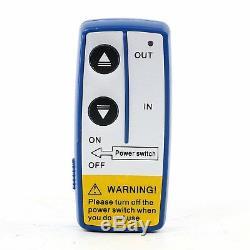 Treuil Électrique De Remorquage Pour Utv Uv Avec Tension Électrique De 1250 KG Et Télécommande - Ca Stock