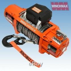 Treuil Electrique Dyneema Sans Fil 13500lb 12v Sl Synthetique Winchmax 4x4 / Recovery