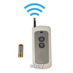 Treuil Électrique Portable Portable 110v 992.08lb×24.93ft Avec Télécommande Sans Fil