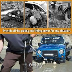 Treuil Électrique Sans Fil 4500lbs 12v En Acier Corde Vtt 4 Roues Motrices Utv Treuil De Remorquage Camion Américain