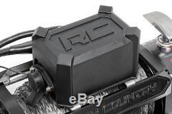 Treuil Électrique Série Pro12000 De 12 000 Lb De Rough Country Avec Câble En Acier