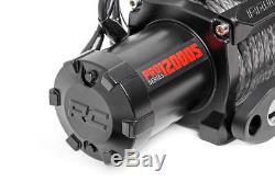 Treuil Électrique Série Pro9500s De 9 500 Lb De Rough Country Avec Corde Synthétique