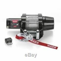 Treuil Électrique Warn 101035 Vrx 35, 3 500 Lb, Câble De Guide-câble À Rouleau De 50 Pi