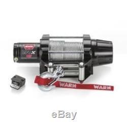 Treuil Électrique Warn 101045 Vrx 45, 4 500 Lb, Câble De Guide-câble À Rouleau De 50 Pi