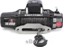 Treuil Smittybilt 98510 X2o 10 Comp Gen2 De 10 000 Lb Avec Corde Synthétique