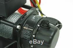 Tuff Stuff Econo 10 000 Lbs Treuil Électrique 12v, Guide-câble, Télécommande Filaire
