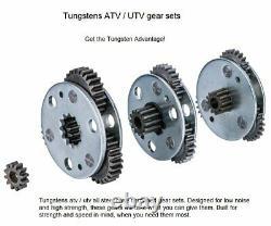 Tungsten4x4 De 12v Vtt / Utv Treuil Électrique Corde Synthétique À Distance Sans Fil