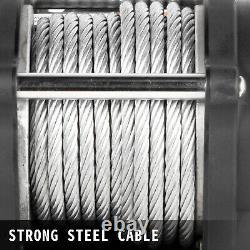 Vevor 4500lbs Câble Électrique À Distance Sans Fil Treuil 12v Atv Bateau Roller Fairlead