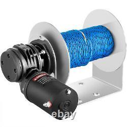 Vevor Anchor Électrique Treuil De Tambour Treuil De 5500 Lbs Charge 0,2x197' Kit De Corde Tw200