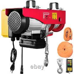 Vevor Electric Hoist 110v Electric Winch 880lbs Avec Télécommande Sans Fil