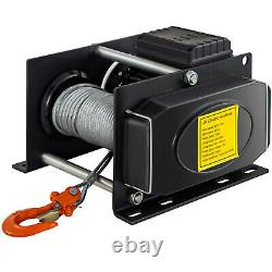 Vevor Electric Hoist Electric Winch 1100/2200 Lbs Avec Wired Remote Control Auto