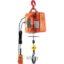 Vevor Electric Hoist Winch Portable Electric Winch 1100lbs Télécommande De Fil