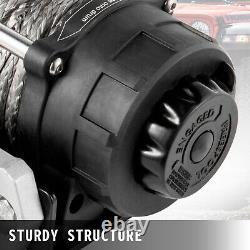 Vevor Treuil Électrique 6000lbs Treuil De Camion 12v Câble D'acier De Treuil De Puissance Utv / Vtt