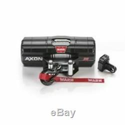 Warn 101135 Axon 35 Powersports Treuil Électrique Avec 50 Pieds. Câble En Acier, 3500 Lb