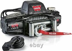 Warn 103252 Vr Evo 10 Electric 12v DC Winch With Steel Cable 10,000 Lb Cap