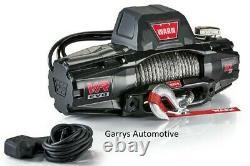 Warn 103253 Vr Evo 10-s 10000lb Winch 12v Hawse Fairlead 90' 3/8 Corde Synthétique