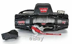 Warn 103253 Vr Evo 10-s Camion, Jeep, Suv Winch, 10 000 Lb, Corde Synthétique