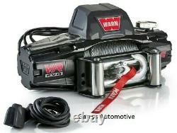 Warn 103254 Vr Evo 12 12000lb Winch 12v Roller Fairlead 85' 3/8 Câble D'acier