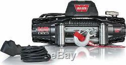 Warn 103254 Vr Evo 12 Standard Duty Treuil Avec Câble En Acier 12 000 Lb Capacité
