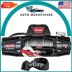 Warn 103255 Vr Evo 12s 12 000 Lbs Winch Avec Corde Synthétique Pour Vus Truck Jeep