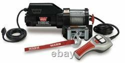 Warn 85330 1500ac 120v Electric Utility Winch 1500 Lb. Capacité