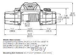 Warn 88980 Zeon 8 Avec Treuil D'une Capacité De 8 000 Lb