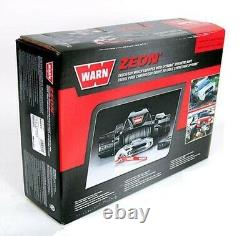 Warn 89611 Zeon 10-s Winch Avec Corde Synthétique 10000 Lb. Capacité