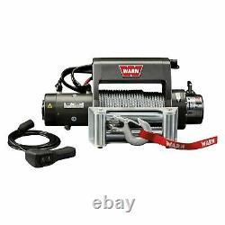 Warn 9000 Lbs Xd9000i Premuim Auto-récupération Treuil Électrique Avec Fil Corde 27550