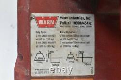 Warn Pullzall 885000 Portable Electric Winch, Hp, 120 Vac 1000 Lb Capacité