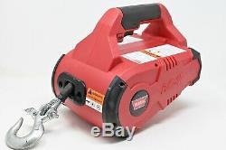 Warn Pullzall 885000 Portable Winch Électrique, Hp, 120 Vac 1000 Lb Capacité