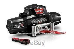 Warn Zeon 10 Platinum Ultimate Performance Treuil Cable Acier, 10000 Lb 10k