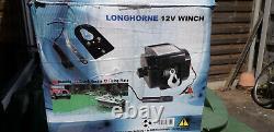 Winch 12v Electric 2000lb Par Longhorne