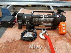 Winch De Récupération 13500lb Treuil Électrique Avec Corde De Camion En Acier @ £289.00 Inc Cuve