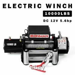 Winch Durable De Récupération Électrique À Télécommande De 10 000 Lb