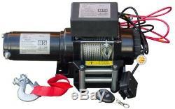 Winch Électrique 12v 4000lbs Avec Câble Kevlar