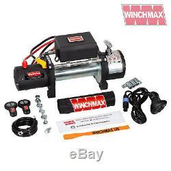Winch Electrique 12v 4x4 13500 Lb Militaire Spec No No Corde Chaumard