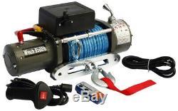 Winch Électrique 12v 9000lbs Avec Câble Kevlar