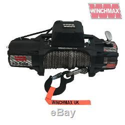 Winch Electrique 13500lb 12v Sl MIL Spec Winchmax 4x4 / Reprise Sans Fil Dyneema