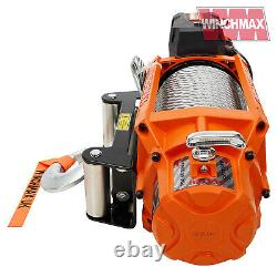 Winch Électrique 24v 4x4 17500 Lb Sl Winchmax Brand Recovery/off Road Wireless