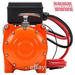 Winch Electrique 24v 4x4 / Recovery 13500 Lb Winchmax Marque + Plaque De Montage Inc