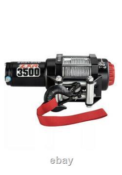 Winch Zxr 3500 Lb. Treuil Électrique Vtt/utility Avec Frein De Charge Automatique