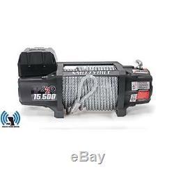 X2o 15.5 Gen 2 Smittybilt Waterproof Winch 15.500 Lb Pour Jeep Truck 97515