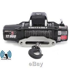 X2o Smittybilt 12 Comp Gen2 Corde Synthétique De Treuil 12 000 Lb Pour Jeep Truck 98512
