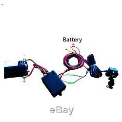 X-bull 12v 3000lbs / Atv Treuil Électrique 1360 KG 2 Wireles À Distance De Contrôle En Acier Bateau