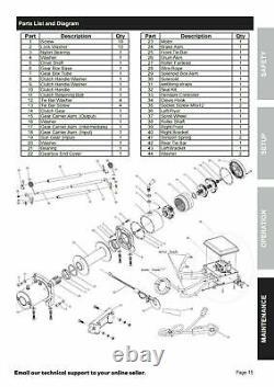 X-bull 13000lbs 12v Treuil Électrique Câble En Acier Récupération Treuil Tracteur Camion 4wd