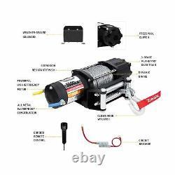 Zeak Advanced 5500 Lb. Treuil Électrique Hors Route Automatique Powersports Treuil, A